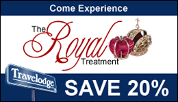 Come Experience The Royal Treatment